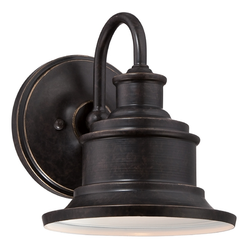 Quoizel Lighting Quoizel Seaford Imperial Bronze Outdoor Wall Light SFD8407IB
