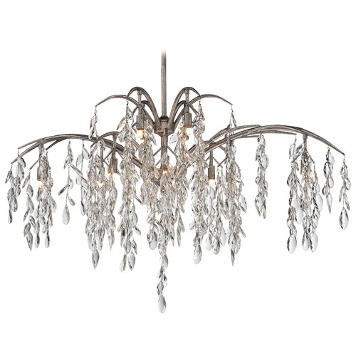 Metropolitan Lighting Metropolitan Bella Flora Silver Mist Island Light N6869-278