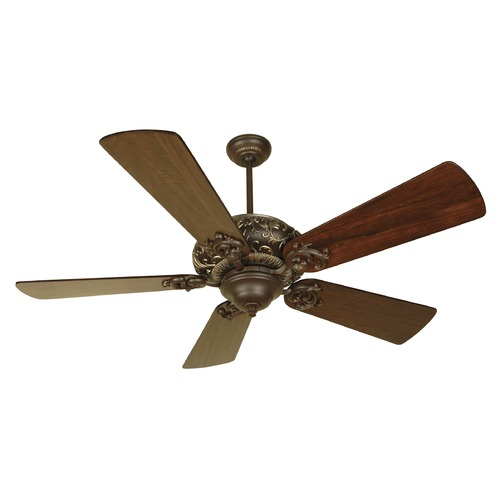 Craftmade Lighting Craftmade Lighting Ophelia Aged Bronze/vintage Madera Ceiling Fan Without Light K10725