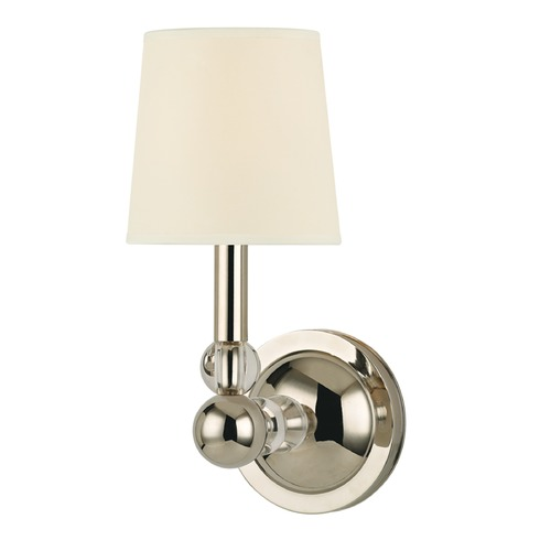 Hudson Valley Lighting Mid-Century Modern Sconce Polished Nickel Danville by Hudson Valley Lighting 3100-PN