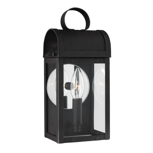 Sea Gull Lighting Sea Gull Conroe Black Outdoor Wall Light 8514801-12