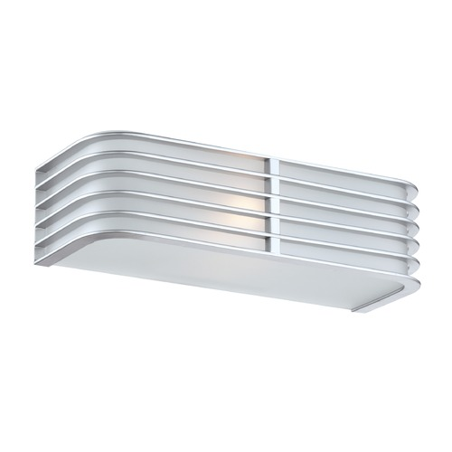 Lite Source Lighting Lite Source Babette Silver Sconce LS-16171