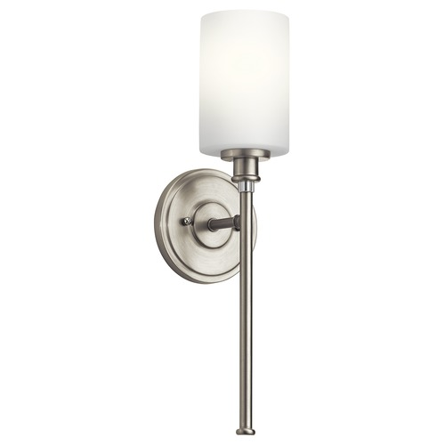 Kichler Lighting Kichler Lighting Joelson Brushed Nickel LED Sconce 45921NIL16