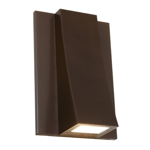 Access Lighting ADA Approved LED Outdoor Wall Light 23062LEDMG-BRZ/CLR