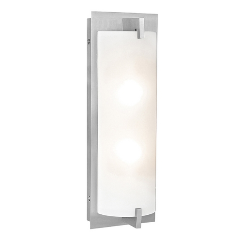 Access Lighting Bo Brushed Steel LED Bathroom Light - Vertical or Horizontal Mounting 62235LED-BS/OPL