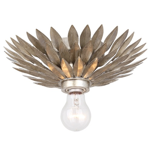 Crystorama Lighting Crystorama Lighting Broche Antique Silver Flushmount Light 500-SA_CEILING