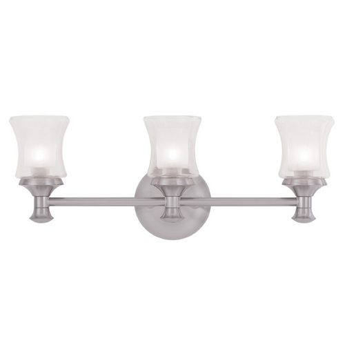 Livex Lighting Livex Lighting Randolph Brushed Nickel Bathroom Light 1463-91