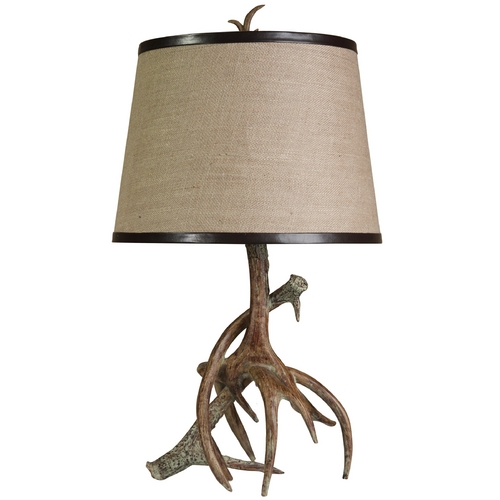 StyleCraft Stylecraft Rustic Antler Table Lamp L33145DS