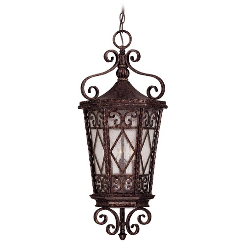 Savoy House Savoy House New Tortoise Shell Outdoor Hanging Light 5-423-56