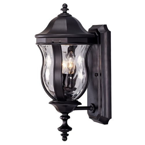 Savoy House Savoy House Black Outdoor Wall Light KP-5-304-BK