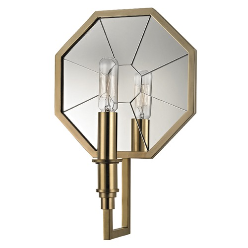 Hudson Valley Lighting Cushing ADA 1 Light Sconce - Aged Brass 4111-AGB