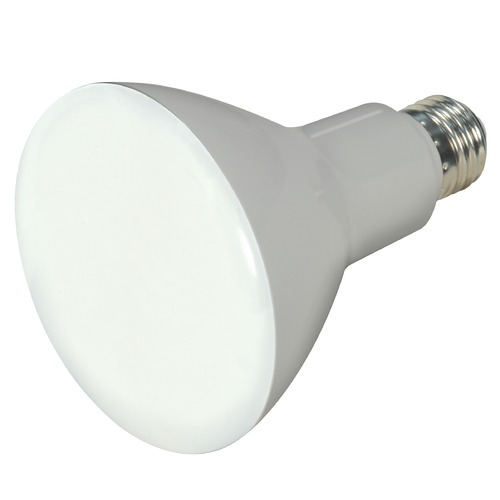 Satco Lighting 9.5W Medium Base LED Bulb BR30 105 Degree Beam Spread 750LM 5000K Dimmable S9623