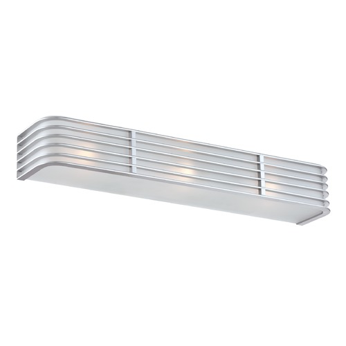 Lite Source Lighting Lite Source Babette Silver Bathroom Light LS-16173