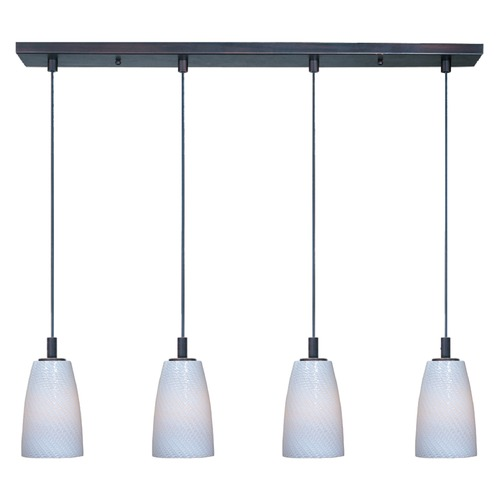 ET2 Lighting Carte Satin Nickel Multi-Light Pendant E91044-13SN