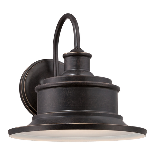Quoizel Lighting Quoizel Seaford Imperial Bronze Outdoor Wall Light SFD8409IB