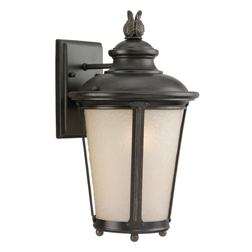 Sea Gull Lighting Sea Gull Lighting Cape May Burled Iron LED Outdoor Wall Light 8824191S-780