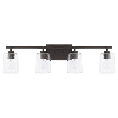 HomePlace by Capital Lighting Homeplace By Capital Lighting Greyson Bronze Bathroom Light 128541BZ-449