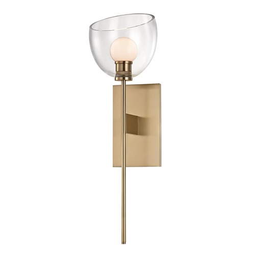Hudson Valley Lighting Hudson Valley Lighting Davis Aged Brass LED Sconce 2800-AGB
