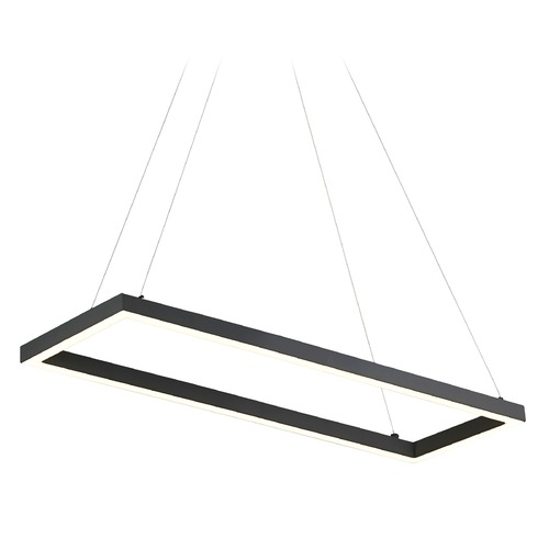 Kuzco Lighting Kuzco Lighting Piazza Black LED Island Light PD85530-BK