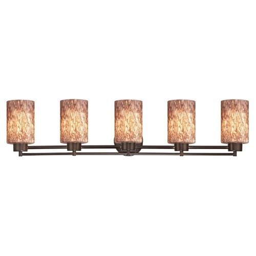 Design Classics Lighting Design Classics Salida Fuse Neuvelle Bronze Bathroom Light 706-220 GL1016C