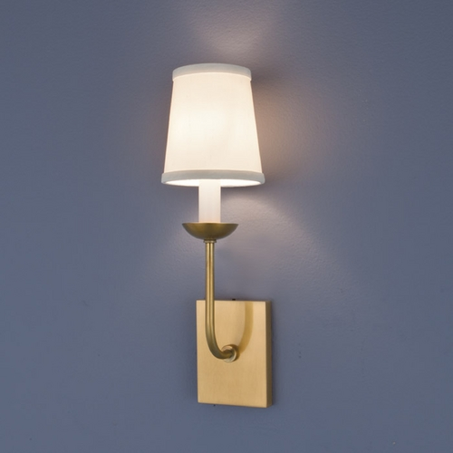Norwell Lighting Norwell Lighting Circa Aged Brass Sconce 8141-AG-WS