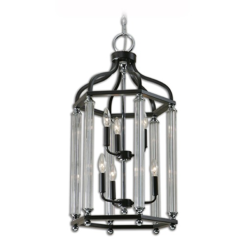 Uttermost Lighting Uttermost Chatsworth 6 Light Bronze Lantern 21262