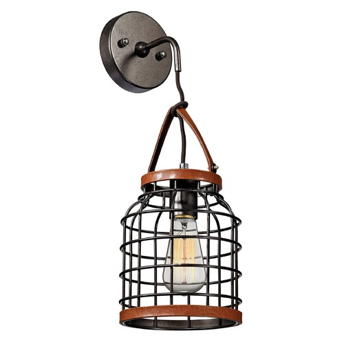 Elk Lighting Elk Lighting Purcell Weathered Iron Sconce 14305/1