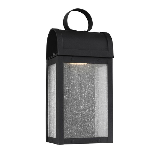 Sea Gull Lighting Sea Gull Conroe Black LED Outdoor Wall Light 8514891S-12