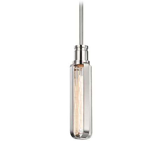 Hudson Valley Lighting Hudson Valley Lighting Red Hook Polished Nickel Mini-Pendant Light 1090-PN