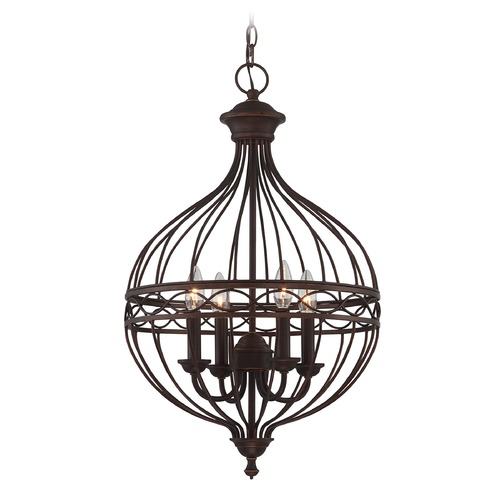 Lite Source Lighting Lite Source Winterlynn Antique Bronze Pendant Light C71359