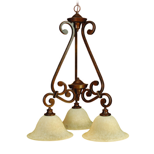Craftmade Lighting Craftmade Toscana Peruvian Bronze Chandelier 9124PR3