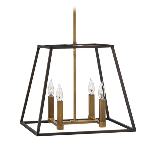 Hinkley Lighting Hinkley Lighting Fulton Bronze Pendant Light 3334BZ