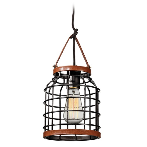 Elk Lighting Elk Lighting Purcell Weathered Iron Mini-Pendant Light 14306/1