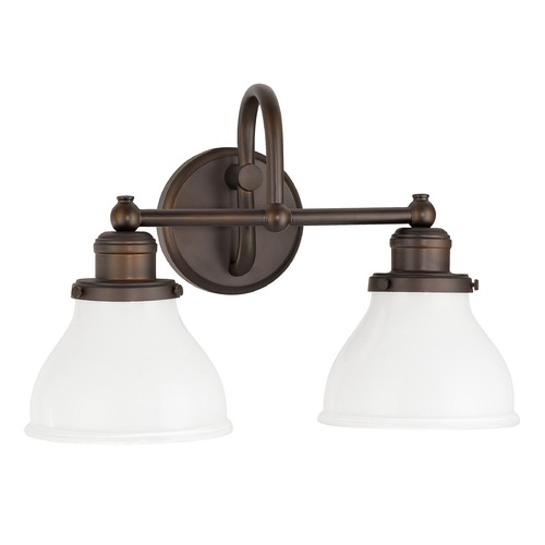Capital Lighting Capital Lighting Baxter Burnished Bronze Bathroom Light 8302BB-128