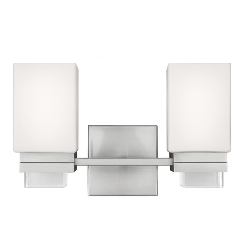 Feiss Lighting Feiss Lighting Maddison Satin Nickel Bathroom Light VS20602SN