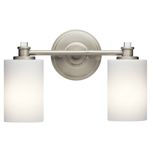 Kichler Lighting Kichler Lighting Joelson Brushed Nickel LED Bathroom Light 45922NIL16