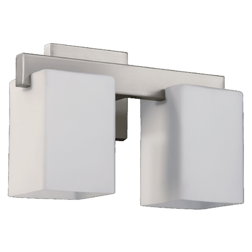 Quorum Lighting Quorum Lighting Modus Satin Nickel Bathroom Light 5476-2-65