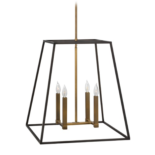 Hinkley Lighting Hinkley Lighting Fulton Bronze Pendant Light 3336BZ