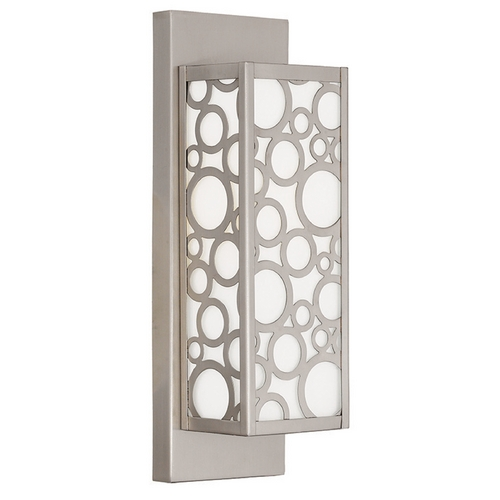 Livex Lighting Livex Lighting Avalon Brushed Nickel Sconce 86791-91