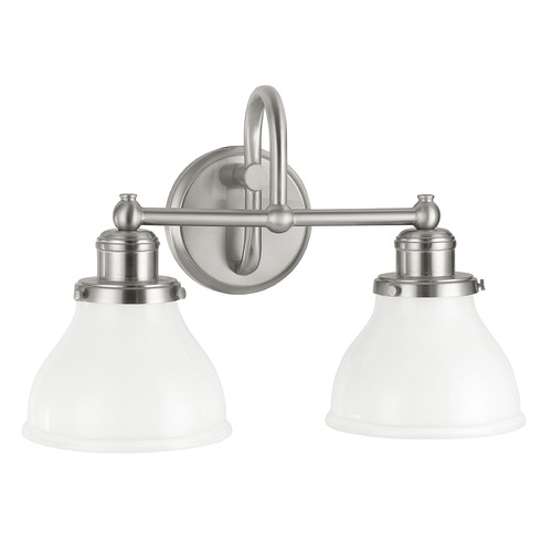 Capital Lighting Capital Lighting Baxter Brushed Nickel Bathroom Light 8302BN-128