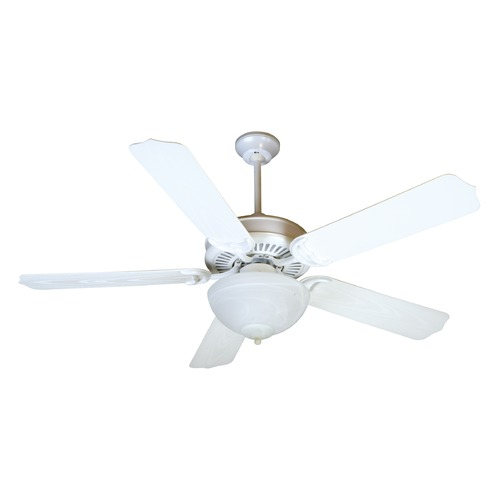 Craftmade Lighting Porch Fan White Ceiling Fan With Light
