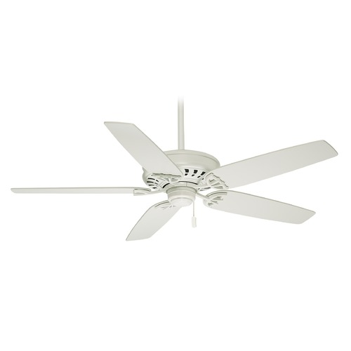Casablanca Fan Co Casablanca Fan Concentra Snow White Ceiling Fan Without Light 54019