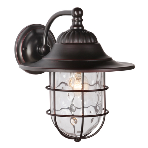 Craftmade Lighting Craftmade Lighting Fairmont Oiled Bronze Gilded Outdoor Wall Light Z5824-88