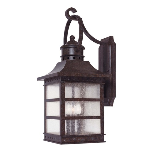 Savoy House Savoy House Rustic Bronze Outdoor Wall Light 5-441-72