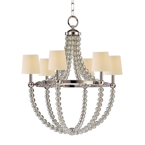 Hudson Valley Lighting Hudson Valley Lighting Danville Polished Nickel Chandelier 3116-PN