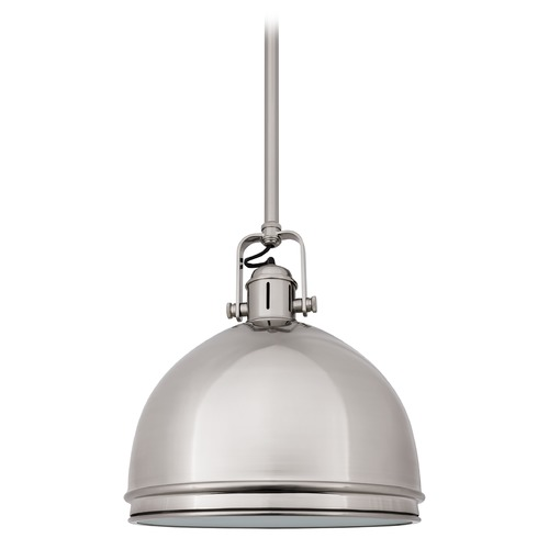 Hudson Valley Lighting Modern Pendant Light in Satin Nickel Finish 8011-SN