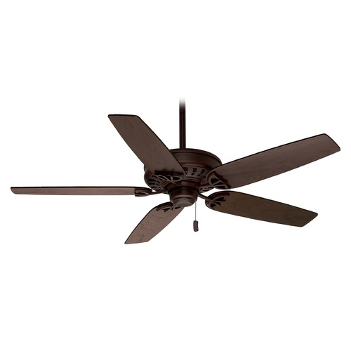 Casablanca Fan Co Casablanca Fan Concentra Brushed Cocoa Ceiling Fan Without Light 54020