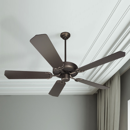 Craftmade Lighting Craftmade 52-Inch Ceiling Fan in Oiled Bronze with Five Blades CD52OB/BCD5OB
