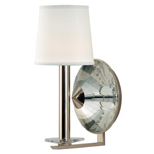 Hudson Valley Lighting Porter 1 Light Sconce - Polished Nickel 6611-PN