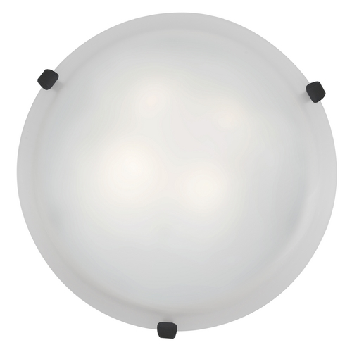 Access Lighting Access Lighting Mona Rust Flushmount Light 23019GU-RU/WH